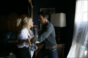 Jealous Ramey Sandeley confronts Alexandra in scene from trailer